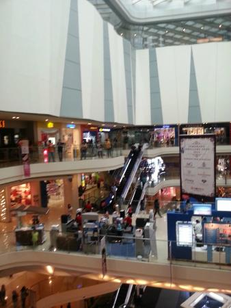 The modern interior of the Paragon - Picture of Paragon Mall ...
