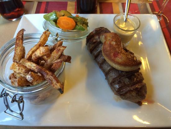 Restaurant du Lac : Magret Rossini