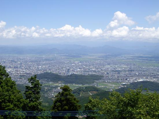 Kumamoto Prefecture, Japan: 山頂から