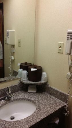 Comfort Inn: Bathroom area