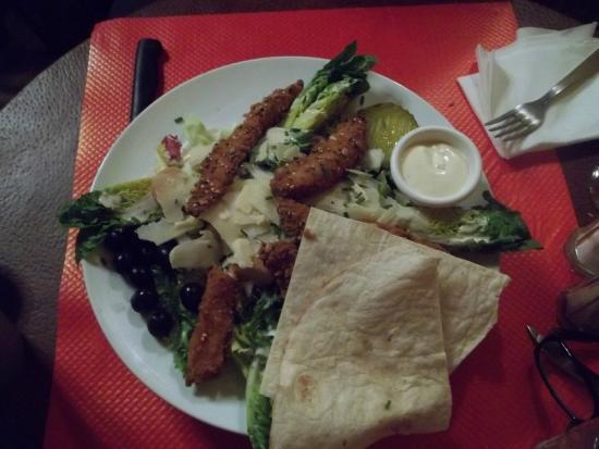 El Gringo: Salade césar au poulet pané