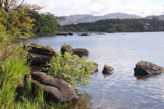 Donegal Town, Irland: Lough within walking distance