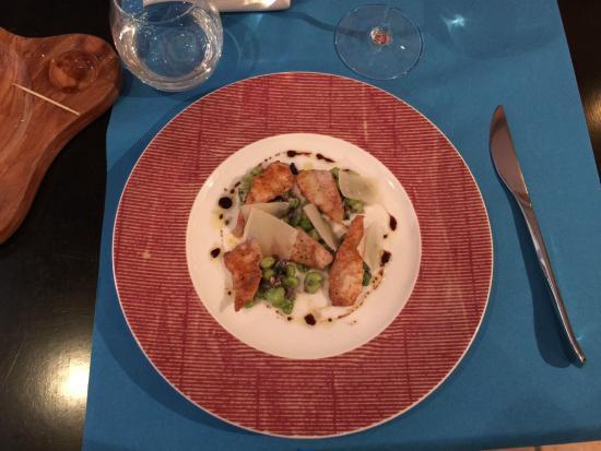 Bistrot Gourmand Clovis : Закуска из рыбы