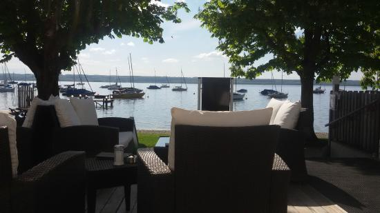 Ammersee Hotel: Terrasse