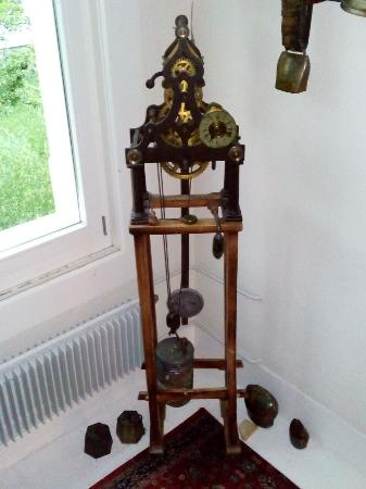 Hotel de la Paix : One of the clocks