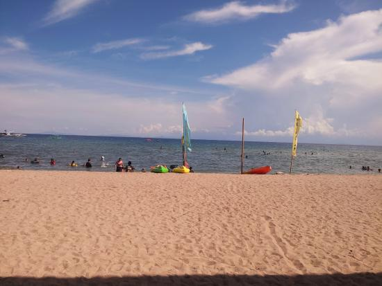 Still the frontage of the resort Picture of Kabayan Beach Resort