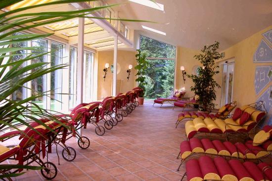 Alm- & Wellnesshotel Alpenhof: Sonnenpavillon