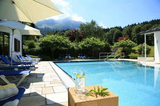 Alm- & Wellnesshotel Alpenhof : Freibad