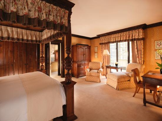 Eisenhower Suite Master Bedroom - Picture of The Dorchester ...