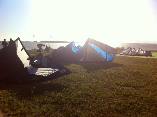 Scuola Surf & Kitesurf Palermo: Stagnone