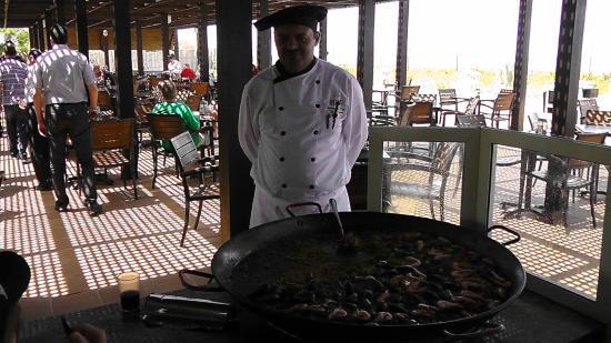 Riu Imperial Marhaba: Hotel Head Chef at the Beach reasturant
