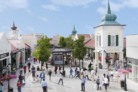 Parndorf, Austria: Enjoy the Luxury Plaza with international sought-after luxury brands.