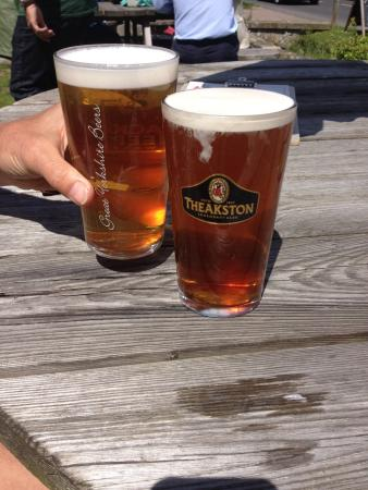 Gilling East, UK: Black Sheep at The Fairfax Arms
