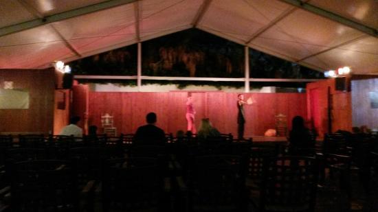 Carema Garden Village: Entertainment stage
