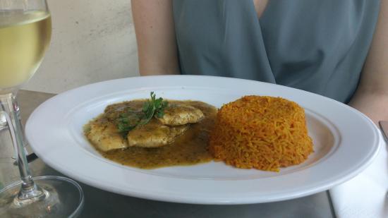 Comida : Caribbean Jerk Chicken