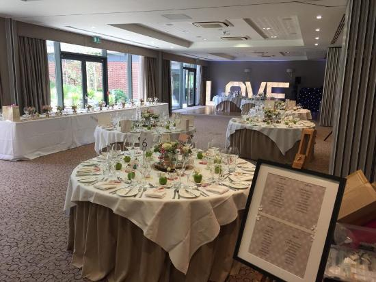 Beautifully Decorated Wedding Reception Picture Of Wivenhoe House