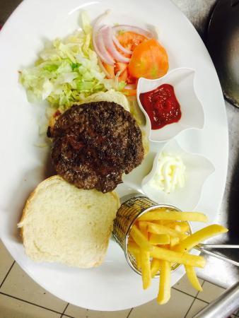 Pusiano, Italie : Hburger di Chianina
