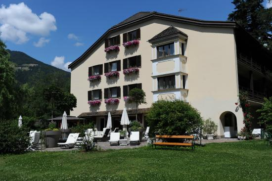 Campo di Trens, Italia: Rückseite Hotel