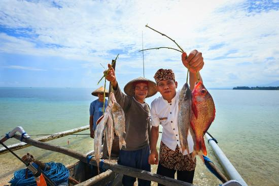 Hotel Tugu Lombok - Catch Of The Day