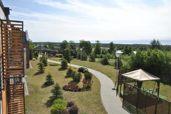 Bazuny Hotel & Spa : Ogród