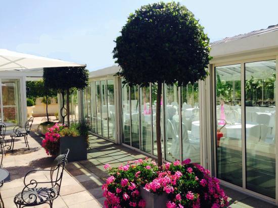 La terrasse photo de les salons hoche paris tripadvisor for Salon hoche paris
