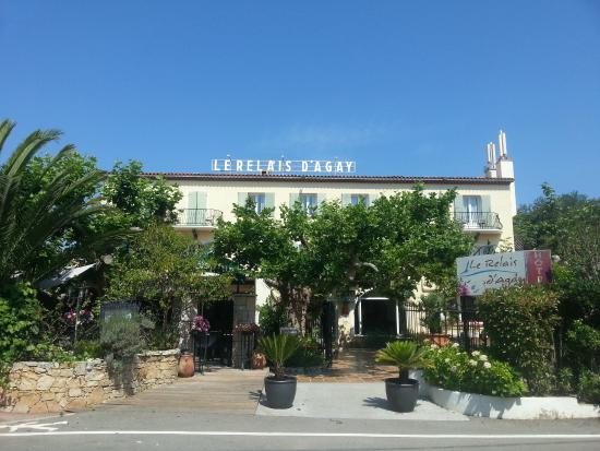 Hotel le Relais d'Agay: the hotel
