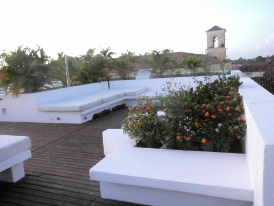 Bioma Boutique Hotel Mompox: Hotel Terrace
