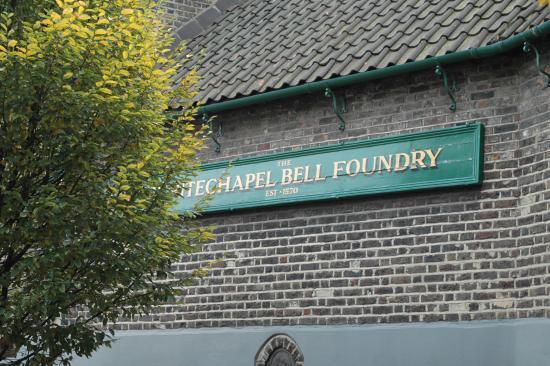 Whitechapel Bell Foundry: Древняя колокольная мануфактура в Уайтчепел1