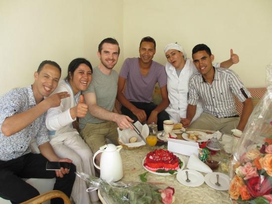 Riad le coq berbere: The nicest people you could meet!