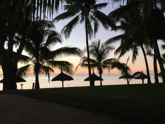 Trou aux Biches Beachcomber Golf Resort & Spa: After sunset