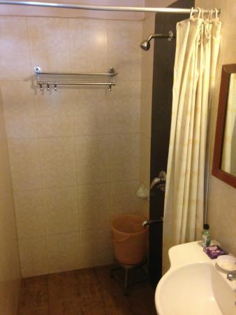 Swaroop Hotel: Dusche Zimmer 305