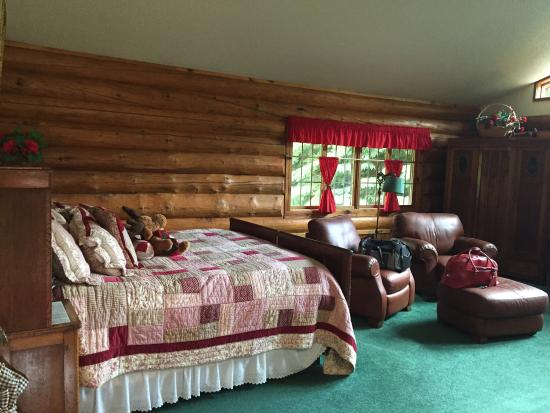 Abend Haus Cottages and Audries Bed and Breakfast: Great stay at Yuletide cabin!