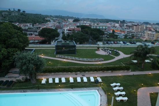 Grand Hotel Terme Parco Augusto: Vista dalla camera