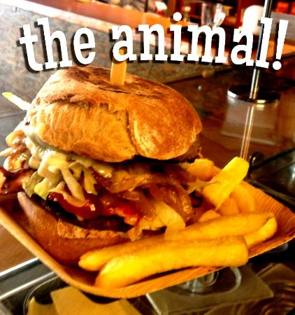 Cookie Cafe Mossettes 2277: The Legendary Animal Burger