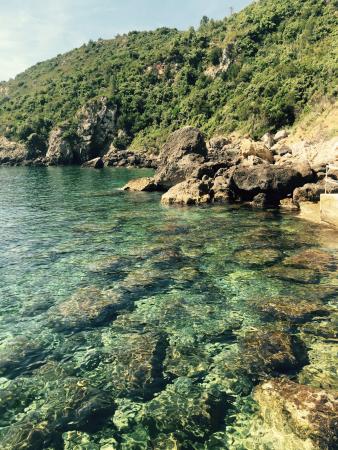 Hotel Il Pellicano: Il mare