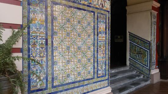 San mart n de porres picture of monastery of santo - Azulejos martin ...