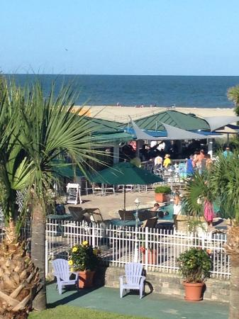 Beachside Colony: View from Balcony