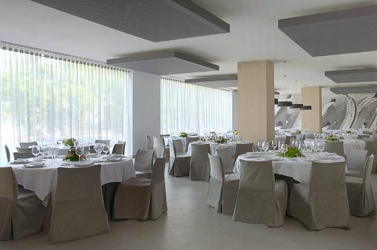 NH Campo Cartagena: Restaurante con montaje de banquete