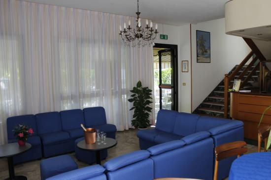 Hotel Carezza: Sala tv