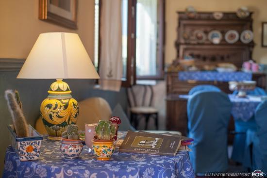 Tetti di Girgenti: sala comune