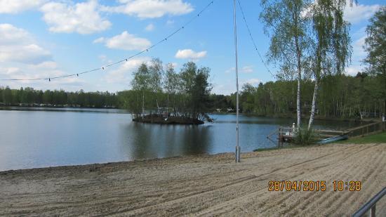 Hotel Am Springhorstsee: Вид на озеро 1