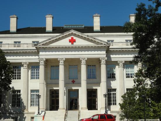 American Red Cross Museum: 知らなくても、すぐにレッドクロスと分かります