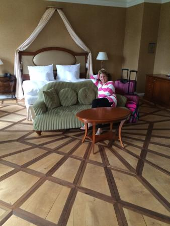 Schloss Neutrauchburg: Honeymoon suite