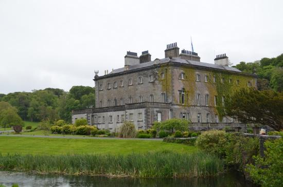 Westport House & Gardens : Shot of the old house.