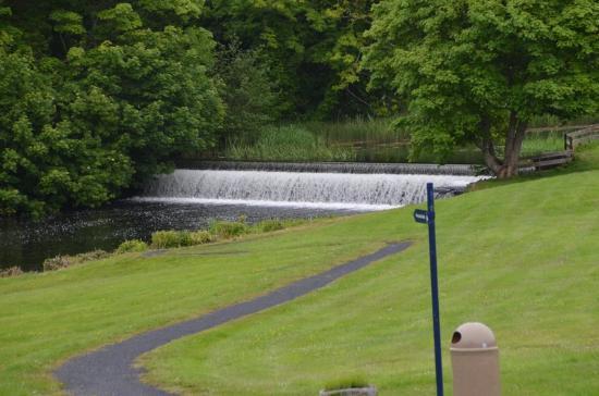 Westport House & Gardens : Waterfalls on the property.