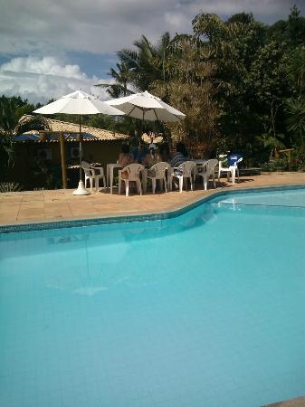 Pousada Bichelenga : Area de uma das piscinas