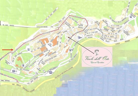 Vicolo dellOste Montepulciano Italy