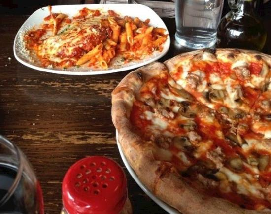 Pazzi Di Pizza En Parm And From An Earlier Visit