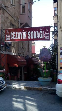 Cezayir Restaurant : улочка