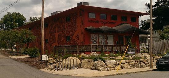 Asheville Yoga Center: The main Studio